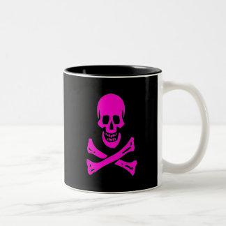 Edward England-Pink Two-Tone Coffee Mug
