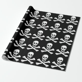 Edward England Pirate Flag Wrapping Paper