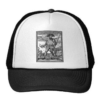Edward England Pirate Portrait Trucker Hat