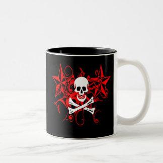 Edward England Print Two-Tone Coffee Mug