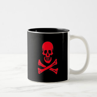 Edward England-Red Two-Tone Coffee Mug