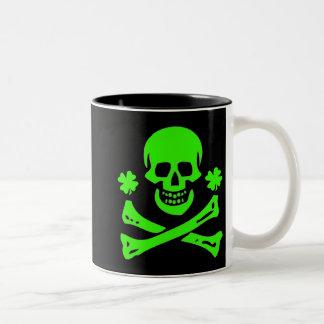 Edward England-Shamrock Two-Tone Coffee Mug