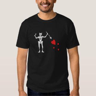 Edward enseña aka a la camiseta de Blackbeard Camisas