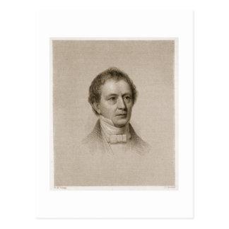 Edward Everett, grabado por Juan Cheney (1801-85) Postales