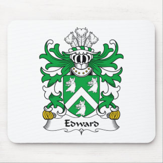 Edward Family Crest Mouse Pad