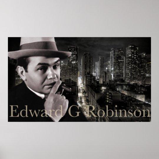 Edward G Robinson Skyline Poster