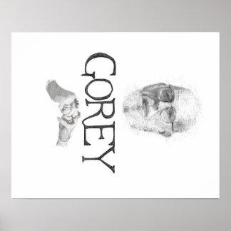Edward Gorey Documentary Poster Print