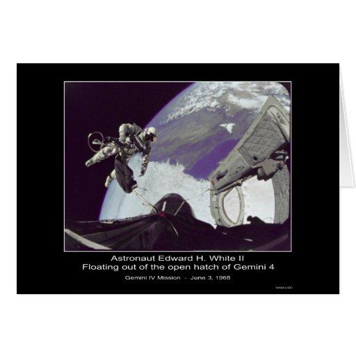 Edward H. White II - flotando de la NASA de los gé Tarjeta