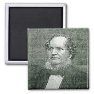 Edward Henry Smith Stanley, Lord Stanley 2 Inch Square Magnet