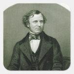 Edward Henry Smith Stanley, señor Stanley Pegatina Cuadrada