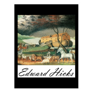 Edward Hicks Noah s Ark Postcard