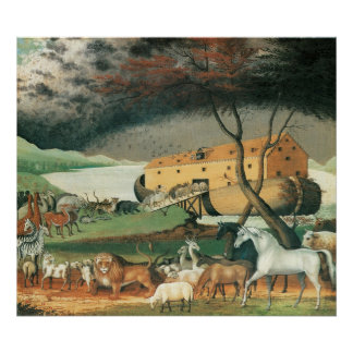 Edward Hicks Noah s Ark Print