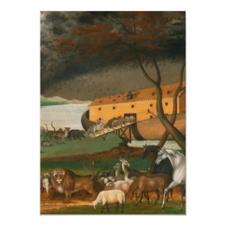Edward Hicks - Noah's Ark Card