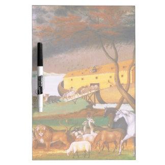 Edward Hicks Noah's Ark Dry Erase Board