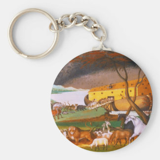 Edward Hicks Noah's Ark Key Chain