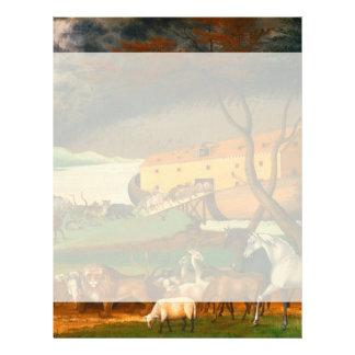 Edward Hicks Noah's Ark Letterhead