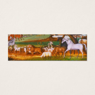 Edward Hicks Noah's Ark Mini Business Card