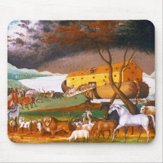 Edward Hicks Noah's Ark Mouse Pad