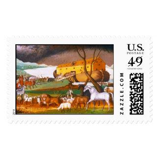 Edward Hicks Noah's Ark Postage