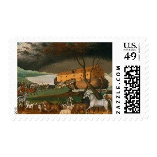Edward Hicks - Noah's Ark Stamp