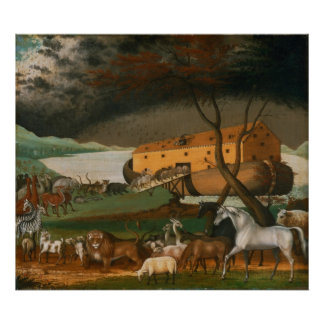 Edward Hicks - Noah's Ark Poster