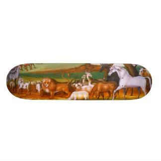 Edward Hicks Noah's Ark Skateboard