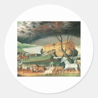 Edward Hicks Noah's Ark Stickers