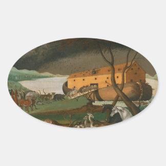 Edward Hicks - Noah's Ark Stickers
