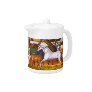 Edward Hicks Noah's Ark Teapot