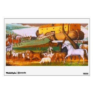 Edward Hicks Noah's Ark Wall Decal