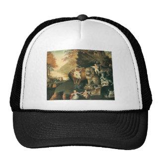 Edward Hicks Peaceable Kingdom Trucker Hat