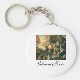 Edward Hicks Peaceable Kingdom Key Chains