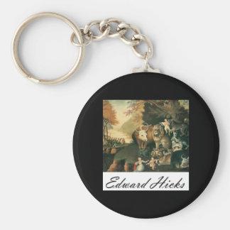 Edward Hicks Peaceable Kingdom Keychains