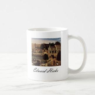 Edward Hicks Residence of David Twining Coffee Mug