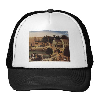 Edward Hicks Residence of David Twining Trucker Hats