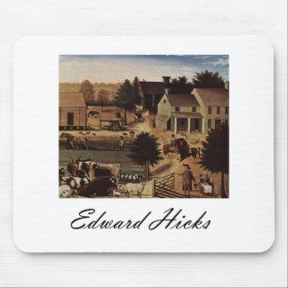 Edward Hicks Residence of David Twining Mouse Pad