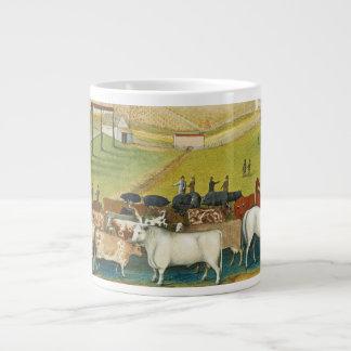 Edward Hicks - The Cornell Farm Giant Coffee Mug