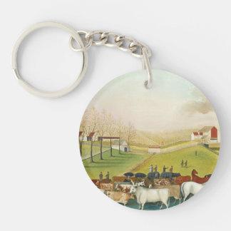 Edward Hicks - The Cornell Farm Key Chains