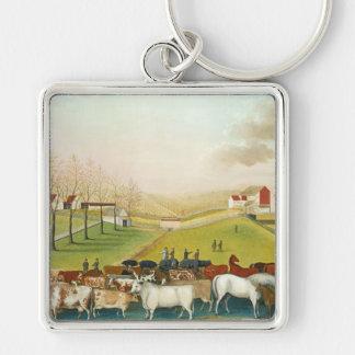 Edward Hicks - The Cornell Farm Keychain