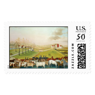 Edward Hicks - The Cornell Farm Postage