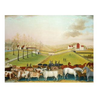 Edward Hicks - The Cornell Farm Postcard