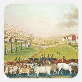 Edward Hicks - The Cornell Farm Sticker