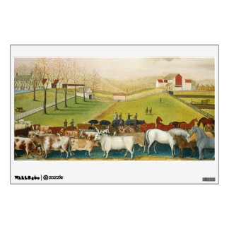 Edward Hicks - The Cornell Farm Wall Sticker
