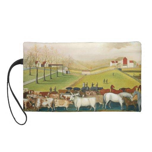Edward Hicks - The Cornell Farm Wristlet