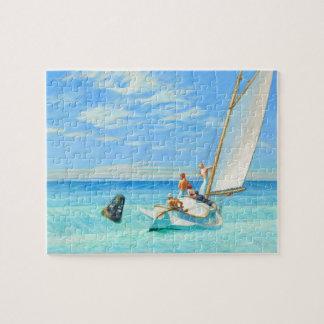 Edward Hopper Ground Swell (1939) Fine Art Puzzle