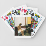 """Edward Hopper Hotel Room Bicycle Playing Cards<br><div class=""""desc"""">Edward Hopper Hotel Room</div>"""