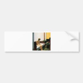 Edward Hopper Hotel Room Bumper Sticker