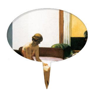 Edward Hopper Hotel Room Cake Pick