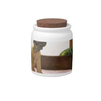 Edward Hopper Hotel Room Candy Jar
