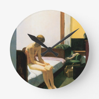 Edward Hopper Hotel Room Clock